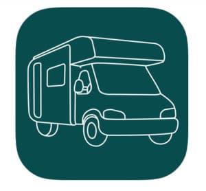 motorhome tip for beginners no. 3 Campercontact app  for campervan overnight stops