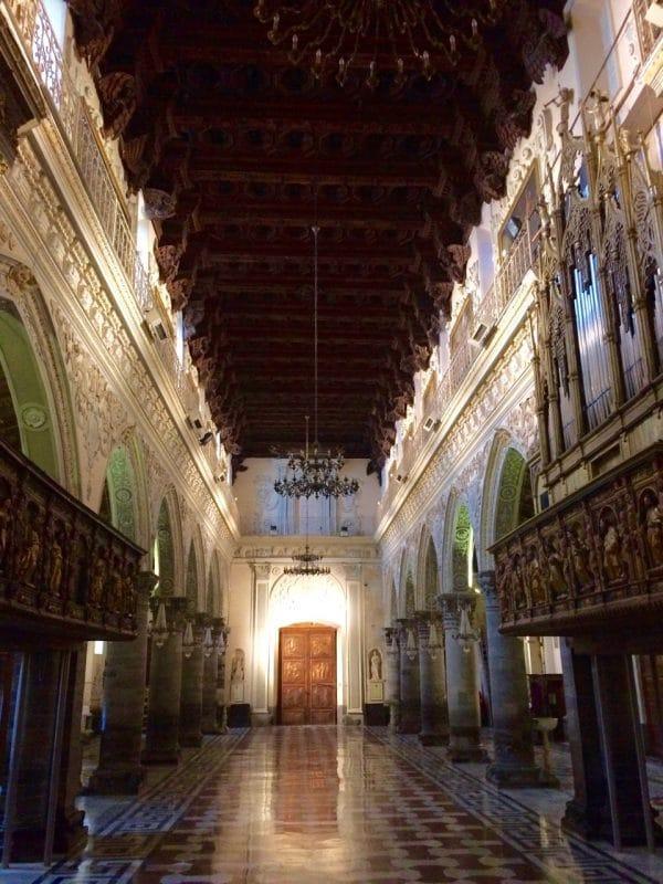 Enna cathedral main hall