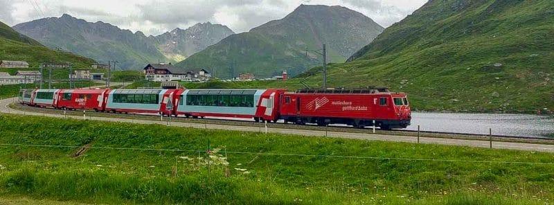 Swiss Alps Matterhorn Train