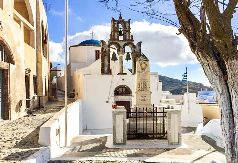 Church of Aghios Nikolaos, Pyrgos, Santorini
