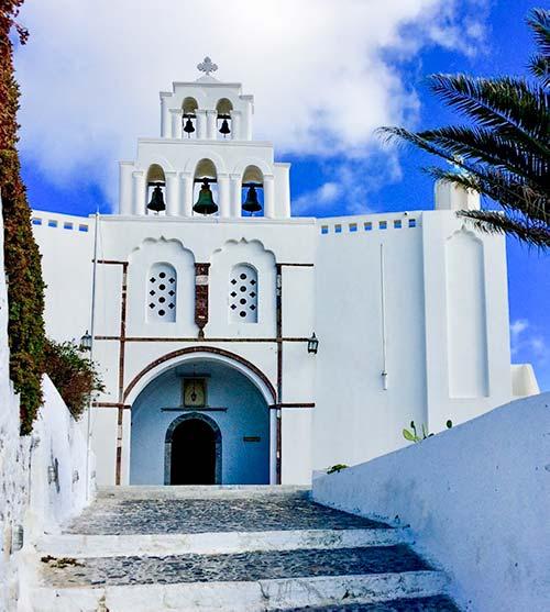 St George Church, Pyrgos Santorini