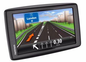 First motorhome tip for beginner: TomTom GPS navigator
