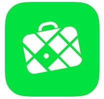 motorhome tip for beginners no. 2 green image of an iphone application for interactive maps