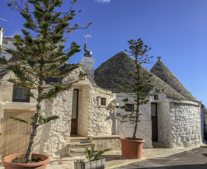 The unique 'trulli' of Alberobello