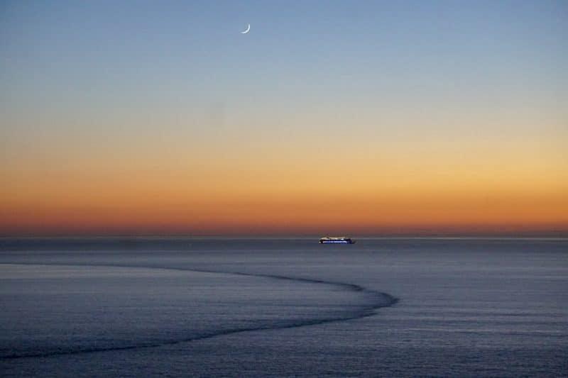 Alasbater Coast sunset