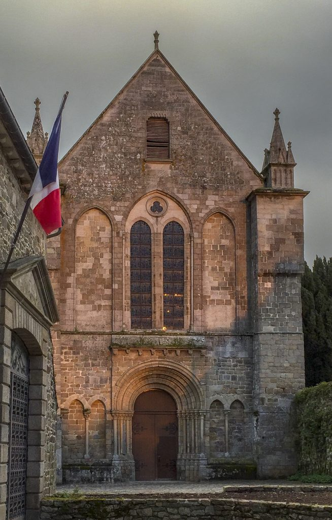 Abbey Saint Magloire de Lehon, Brittany