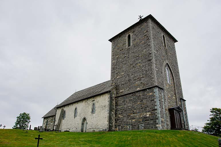 St Olaf's Church Avaldsnes