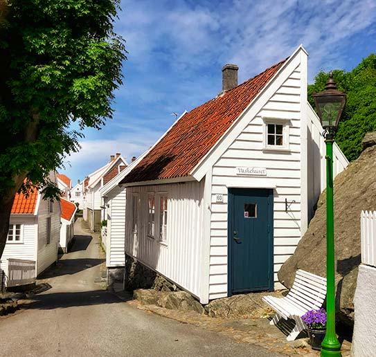 Half house in Skudeneshavn