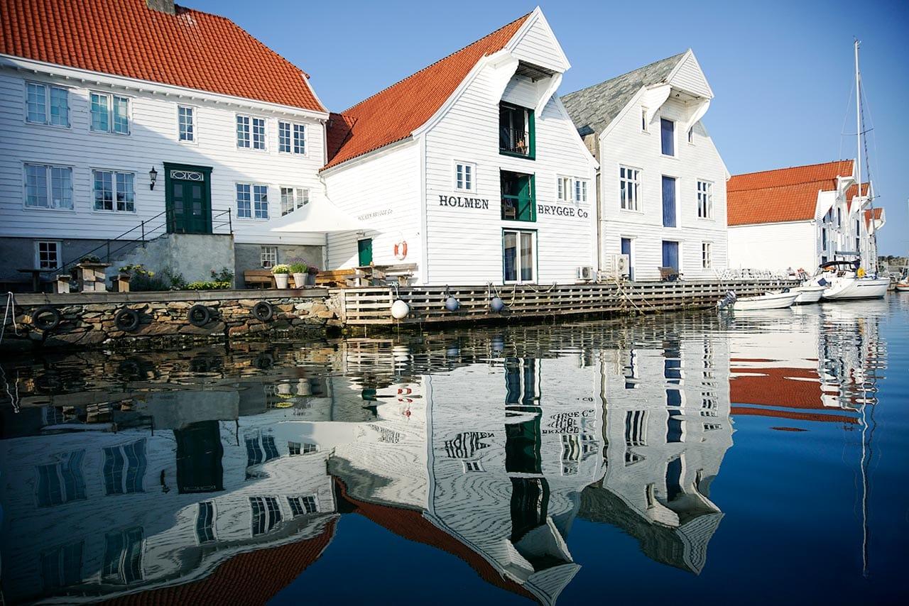 Holmen Brygge Building in Skudeneshavn
