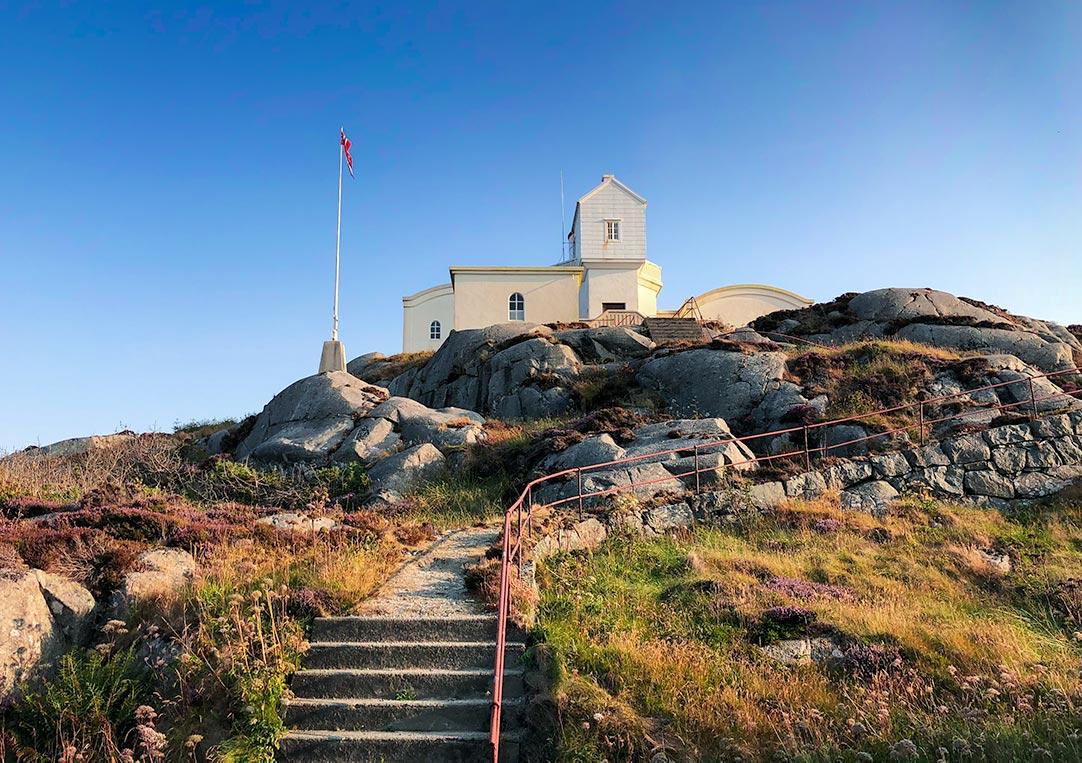 Geitungen Lighthouse at Skudeneshavn