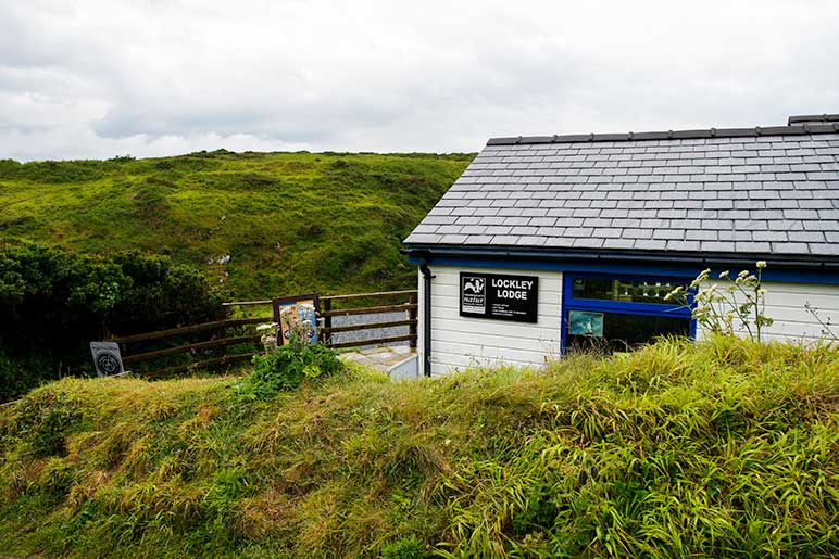 Lockley Lodge Visitor Centre at Martin's Haven