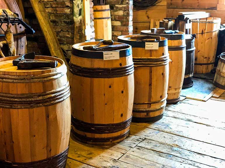 Skudeneshavn Museum Coopers Barrels