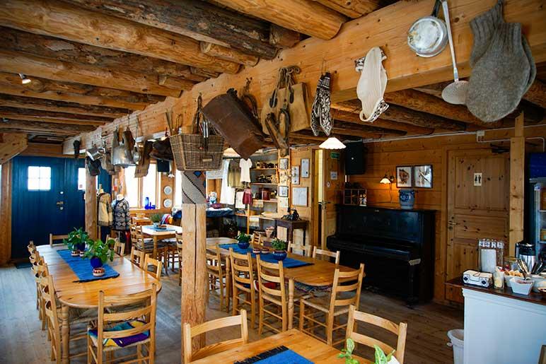 Inside Takelurfabrikken Cafe, Skudeneshavn