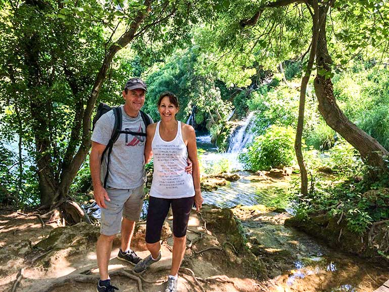 Lifejourney4two at Krka National Park, Croatia