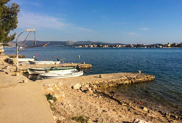 Brodarica beach, Croatia