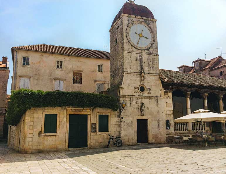 Trogir, Split clocktower