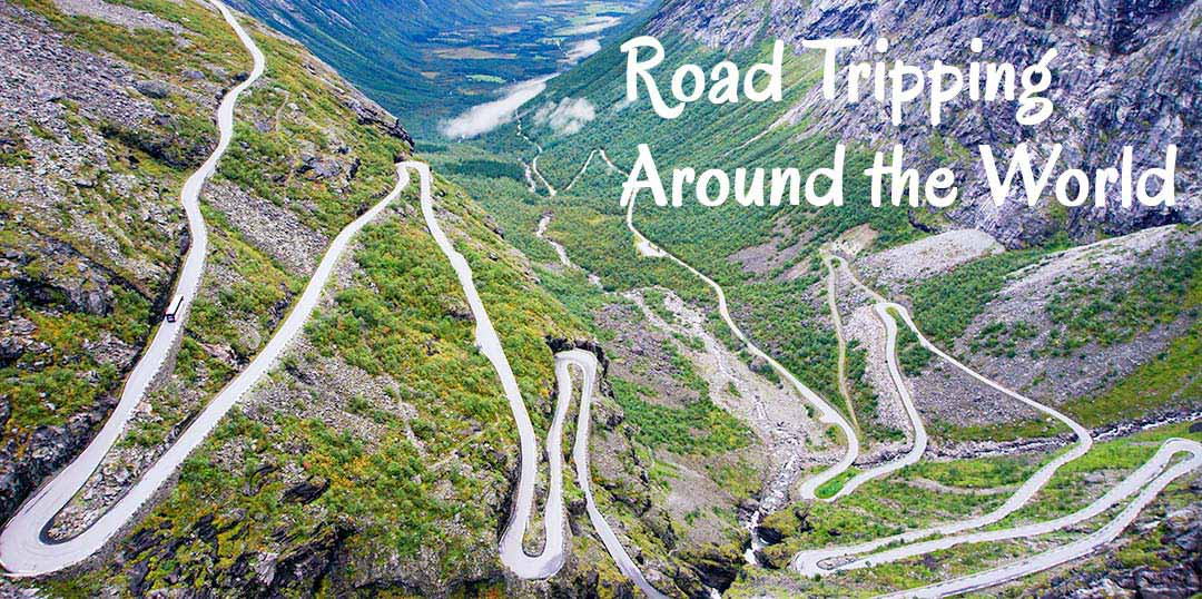 Trollstigen windy road - Roadtripping around the world