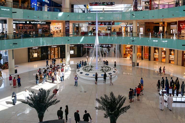 Dubai Mall main lobby