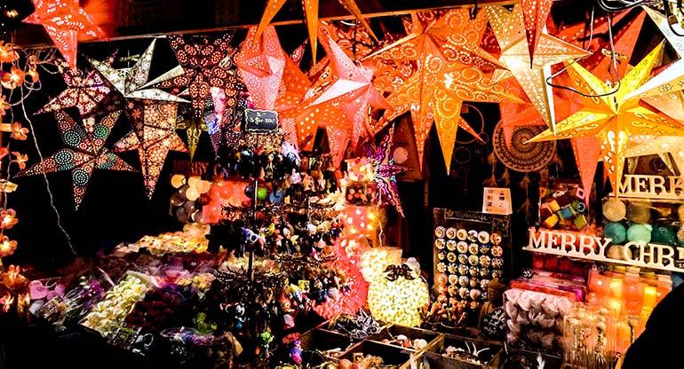 Zurich Christmas Market Stall