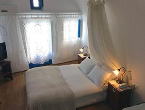 Heliotopis Hotel Bedroom Santorini
