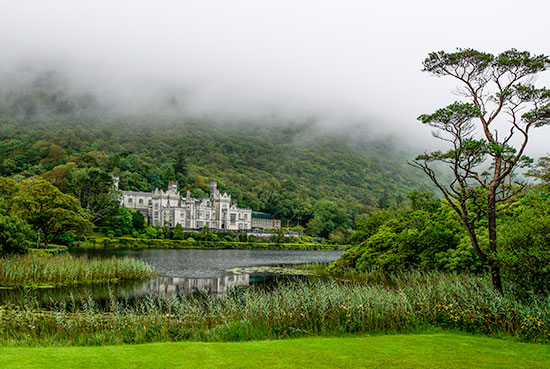 Kylemore Abbey -on our 7 day Ireland itinerary