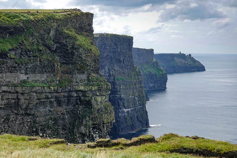 Cliffs of Moher on our 7 day ireland itinerary