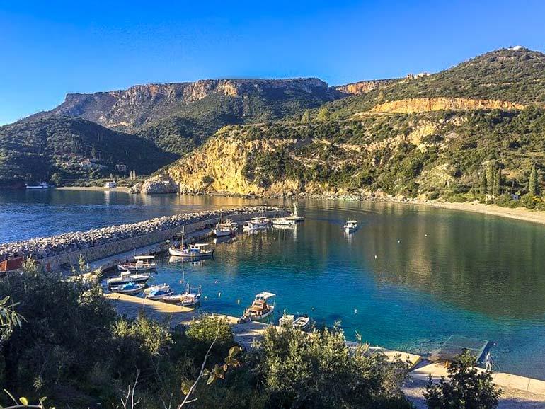 Sampatiki Harbour, Peloponnese