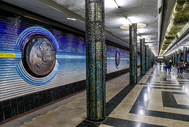 Tashkent's underground metro stations are a must see part of any epic uzbekistan itinerary