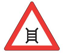 Motorised Gate signpost