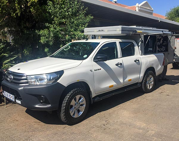 4x4 rental south africa with a rooftop tent that we purchased
