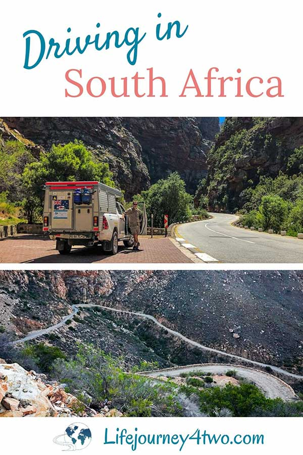 Driving in South Africa Pinterest Pin