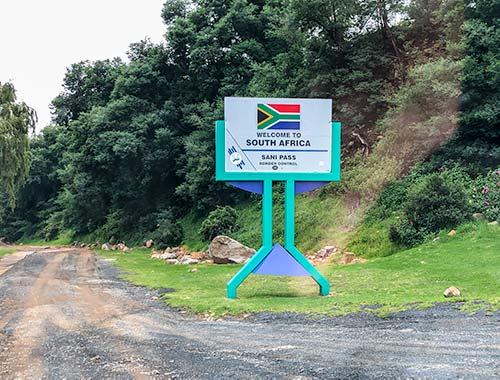 South African Border Gate