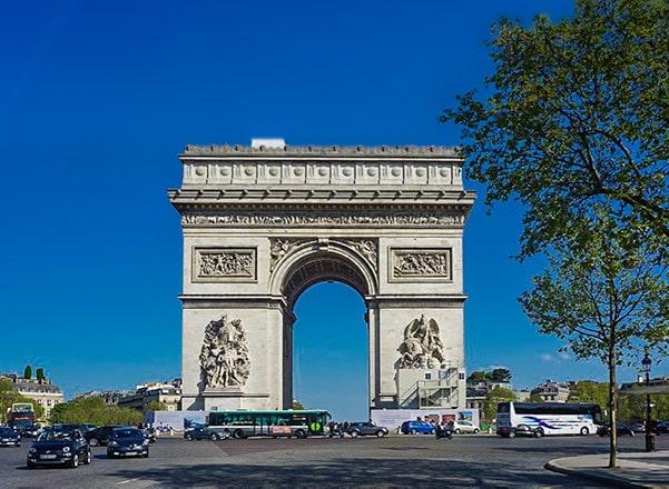 Arc de Triomphe - Paris 2 day itinerary