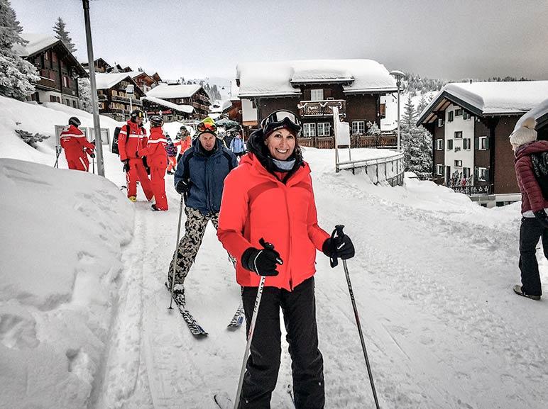 Skiing in Bettmeralp