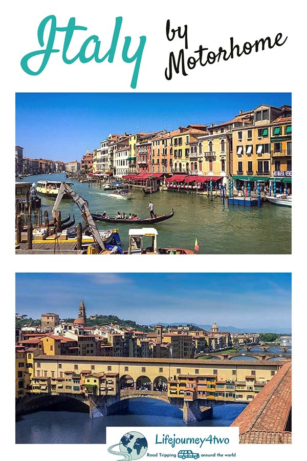 campervanning in Italy pinterest pin 2