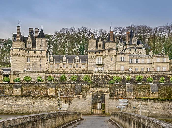 Chateau d'Ussy - Loire valley itinerary