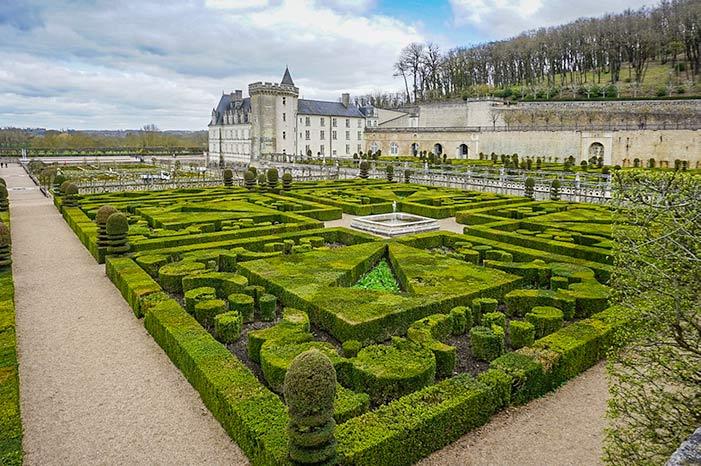 Chateau de Villandry - Loire Valley itinerary
