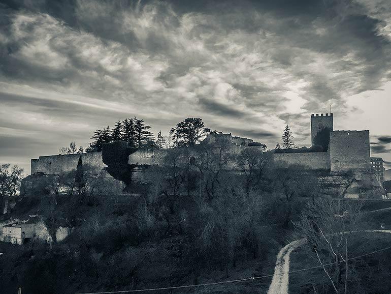 Stopover on our campervan Sicily trip -Enna Castle