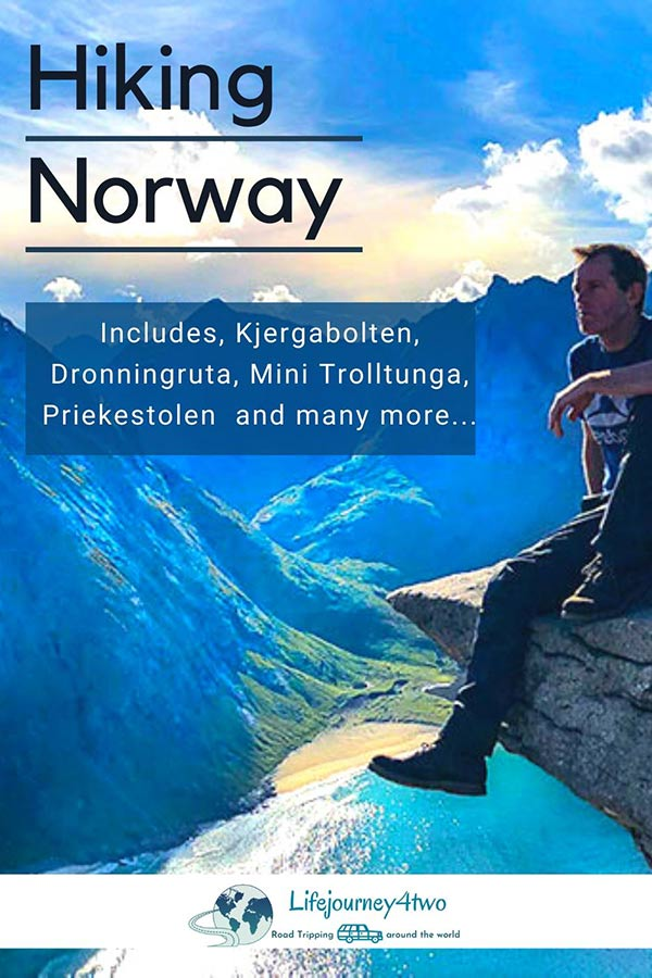 Hiking Norway Pinterest pin 2