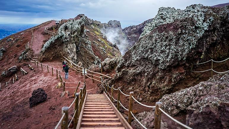 Mount Vesuvius Path