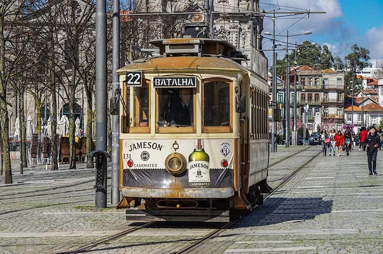 Porto tram, one Day in Porto