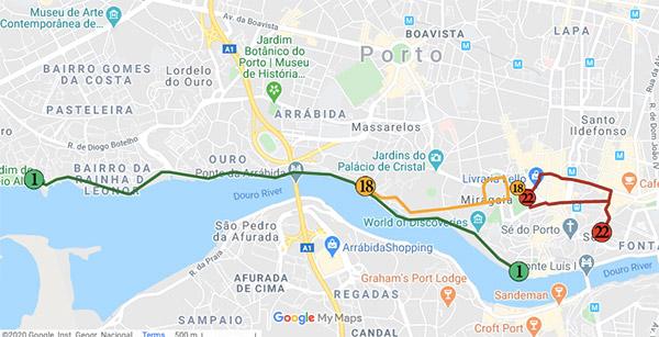 Porto tram lines - One Day in Porto