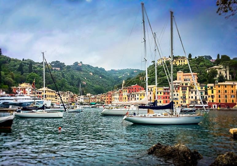 Portofino Harbour Italy