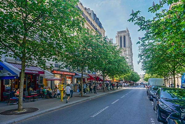 Rue d'Arcole - Paris 2 day itinerary