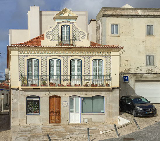 Sesimbra Portuguese styled old home
