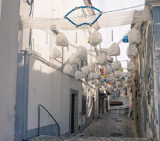 Sesimbra pretty side street