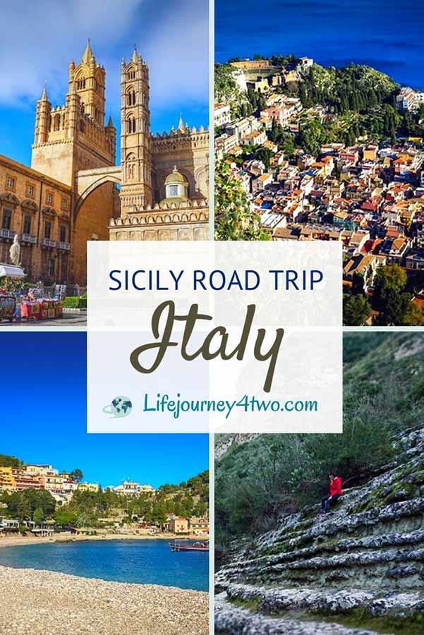 Sicily Road Trip Pinterest pin
