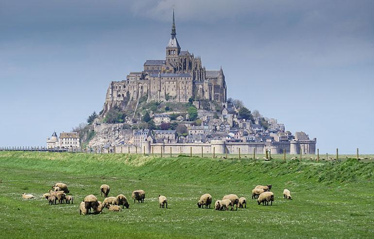 Le Mont-saint-Michel, Normandy road trip