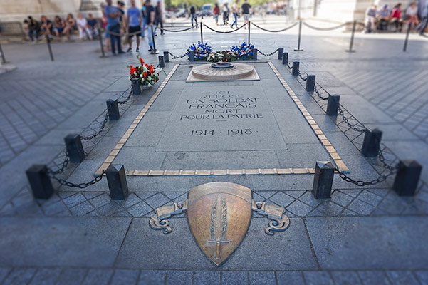 Tomb of the Unknown Soldier - Paris 2 day itinerary
