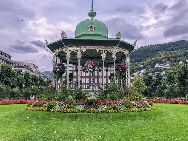 Bergen-pavilion